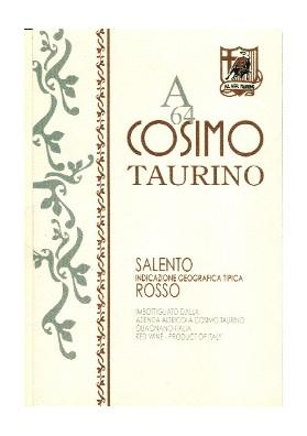 Cosimo Taurino A64 Rosso Salento IGP