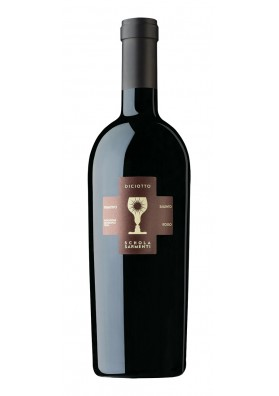 Diciotto Primitivo I.G.T Salento Red (numbered bottles)