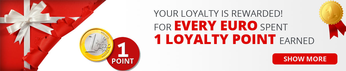 Slider loyalty points